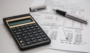 Calculator and account ledger